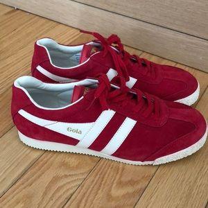Brand new, never worn Gola Nubuck Suede Sneakers